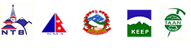 Summit reisen nepal is associated with Nepal Government, TAAN, NMA, KEEP and NTB